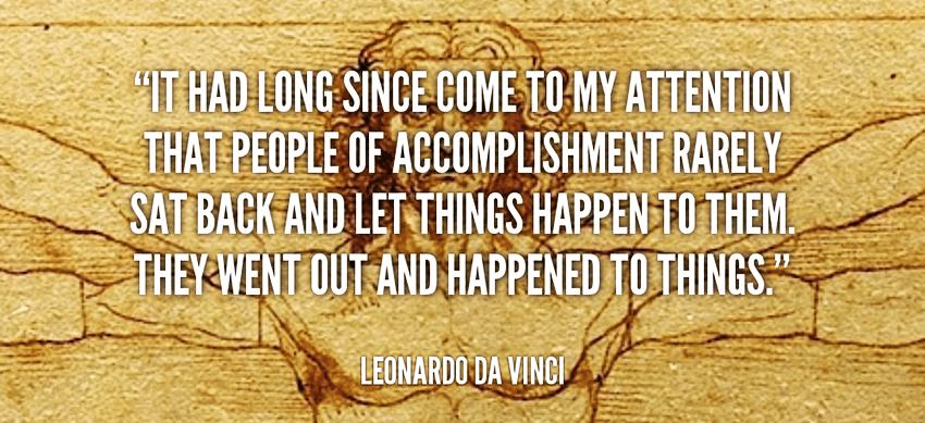 What Leonardo Da Vinci Would Teach You About Achievement
